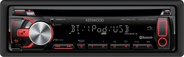 Автомагнитола Kenwood KDC-BT43U